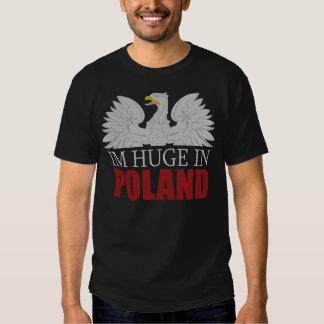 Im enorme en la camiseta de Polonia Poleras