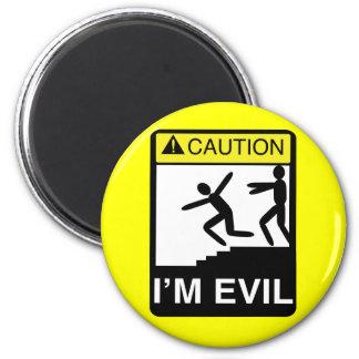 I'm Evil 2 Inch Round Magnet