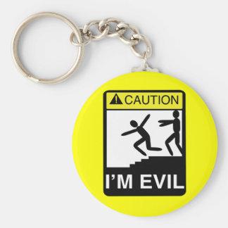 I'm Evil Keychain