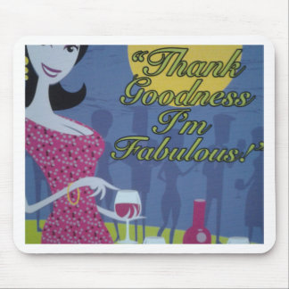 I'm Fabulous Products Mouse Pad