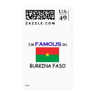 I'm Famous In BURKINA FASO Postage