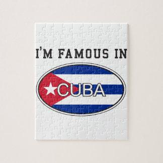 I'M Famous in Cuba Puzzle