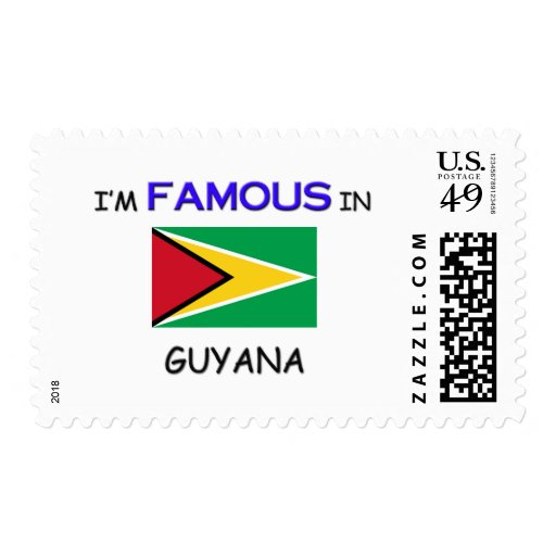 I'm Famous In GUYANA Stamps
