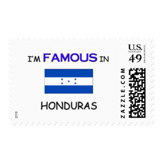 I'm Famous In HONDURAS Stamps