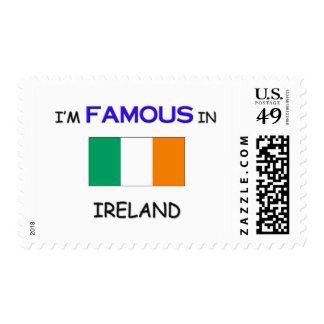 I'm Famous In IRELAND Stamp
