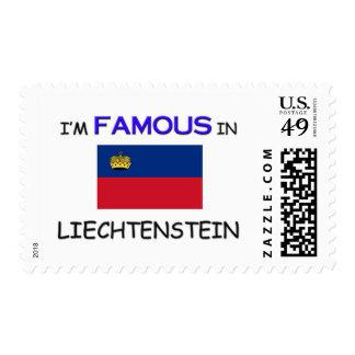 I'm Famous In LIECHTENSTEIN Postage Stamps