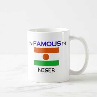 I'm Famous In NIGER Classic White Coffee Mug