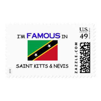 I'm Famous In SAINT KITTS & NEVIS Stamps