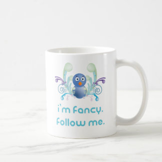 I'm Fancy. Follow Me. Twitter Design Coffee Mug