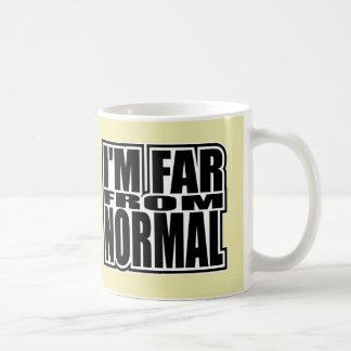 I'm Far From Normal - Pop Fashion Icon Classic White Coffee Mug