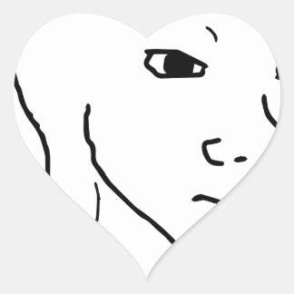 I'm Feelin it. Heart Sticker