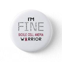 I'm Fine Sickle Cell Anemia Warrior Button