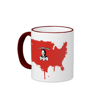 I'm fine with 999 ringer coffee mug