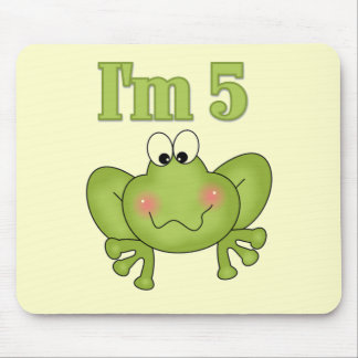 I'm Five Frog Tshirts and Gifts Mouse Pad