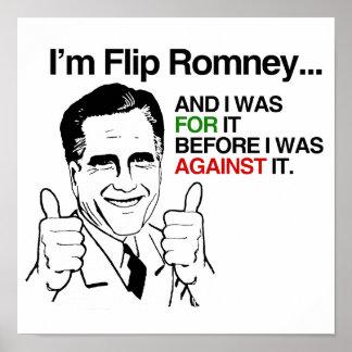 I'm Flip Romney.png Print