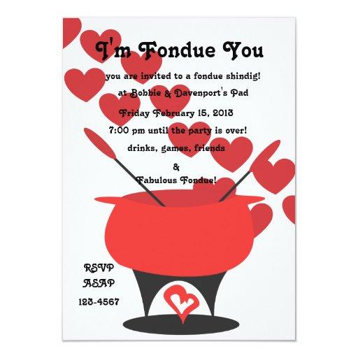 I'm Fondue You Card