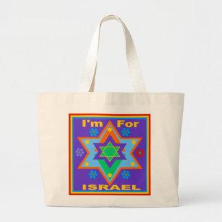 I'm For Israel Anemone Bag