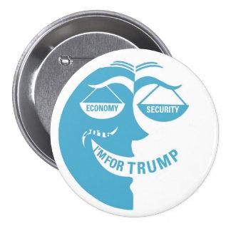 I'm for TRUMP Button