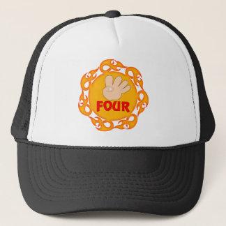 I'm Four 4th Birthday Gifts Trucker Hat