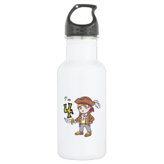 IM FOUR PIRATE 18OZ WATER BOTTLE