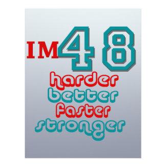 I'm Fourty Eight. Harder Better Faster Stronger! B Flyers