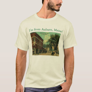 I'm from Auburn, Maine Vintage T-Shirt