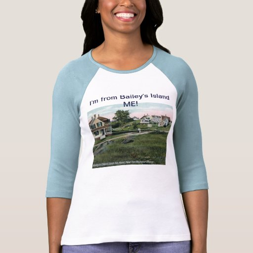 I'm from Bailey's Island Maine Vintage T-shirt