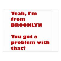 I'm from Brooklyn Postcard
