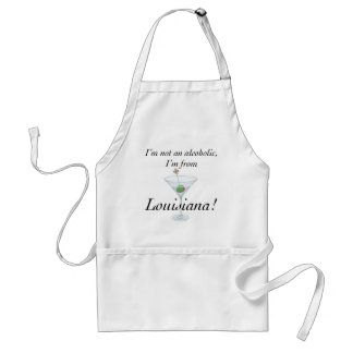 I'M FROM LOUISIANA B ADULT APRON