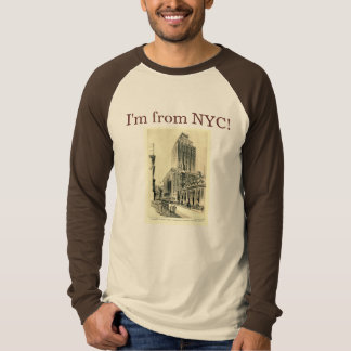 I'm from New York City 35th Street Vintage T-Shirt