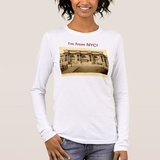 I'm from New York City Vintage Long Sleeve T-Shirt