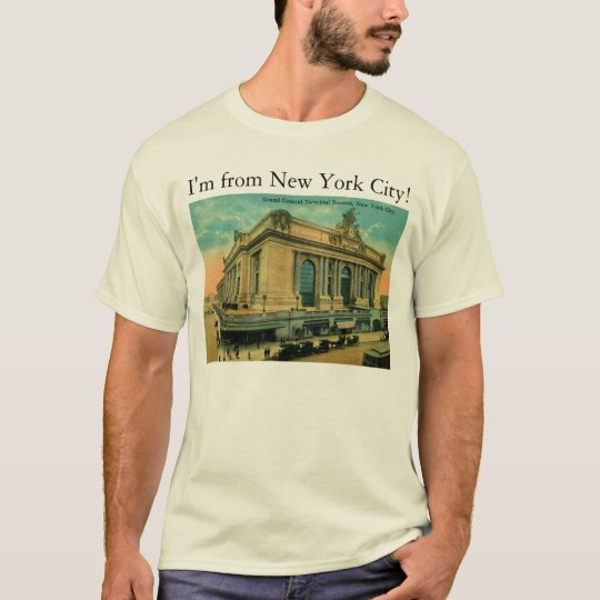 I'm from New York City! Vintage T-Shirt