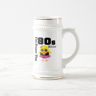 I'm From the 80s What's Your Excuse? 18 Oz Beer Stein