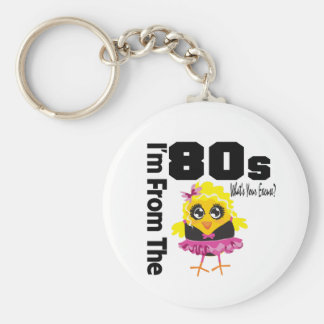 I'm From the 80s What's Your Excuse? Key Chain