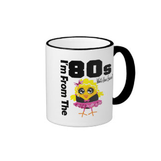 I'm From the 80s What's Your Excuse? Ringer Coffee Mug