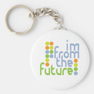 I'm From The Future Keychain