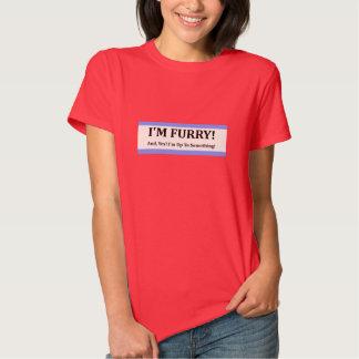 I'm Furry Tee Shirt