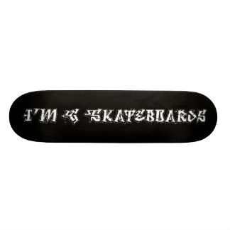 I'm G Skateboards (Degrassi Graffiti Font) - black