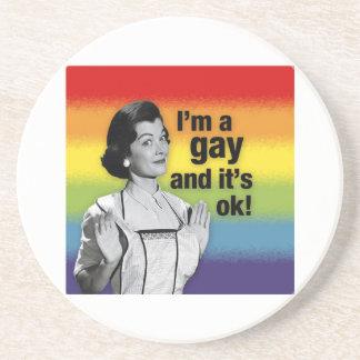 I'm GAY - Coaster