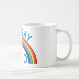 I'm Gay for God Classic White Coffee Mug