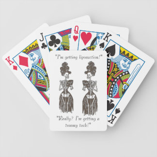 I'm Getting Liposuction Playing Cards