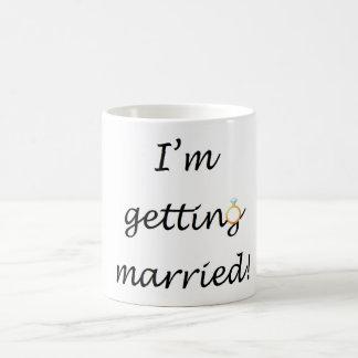 'I'm getting married!' Mug