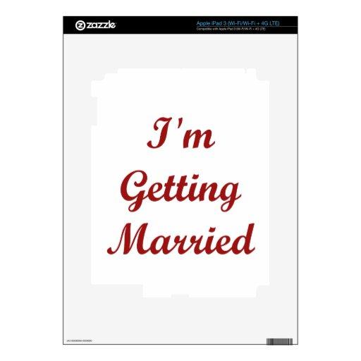 I'm Getting Married iPad 3 Skin