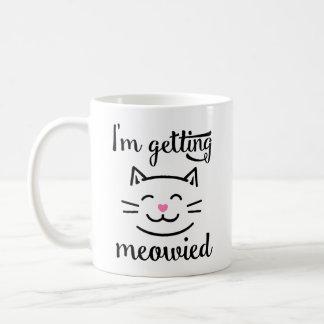 I'm Getting Meowied Engagement Coffee Mug