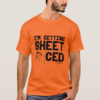 I'm getting Sheet Faced -  - .png T-Shirt