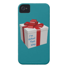I'm Gifted That Way iPhone 4 Case