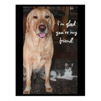 I'm Glad You're My Friend! Postcard