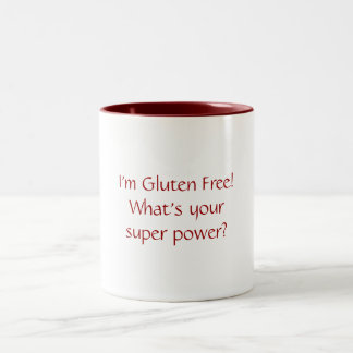 I'm Gluten Free! What's Your Super Power Mug