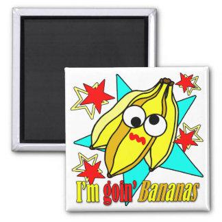 I'm Goin' Bananas Magnet