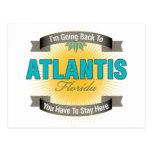 I'm Going Back To (Atlantis) Post Card